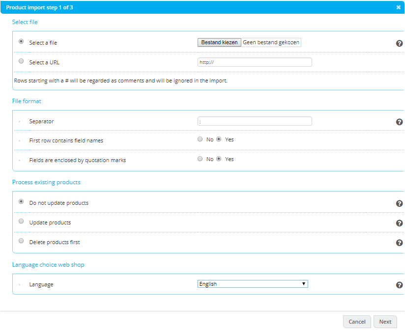 Import products v2 0 – Academy
